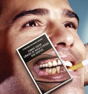 Efeitos fumar boca
