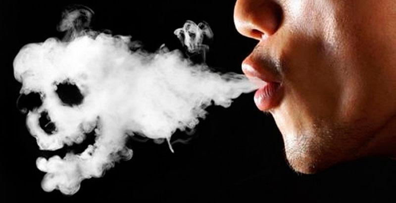 Pare de fumar agora