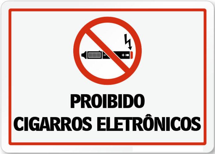 cigarro eletrônico é proibido no Brasil