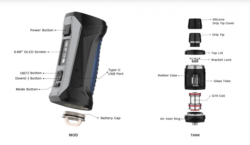 Vale a pena comprar o vape Vaporesso Forz TX80? | Review - Recursos
