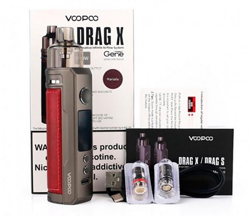 Vale a pena comprar o vape Voopoo Drag X? | Review - Kit